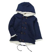 2016 Spring New Brand Boys Coat For 2-7 Years Kids Warm Jacket  Children Moda Faux Fur Abrigos Manteau Enfant Garcon KF015(China (Mainland))