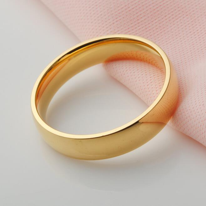 real 18k gold plated top quality ring for men silver rings. Black Bedroom Furniture Sets. Home Design Ideas