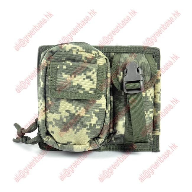 Outdoor sports CORDURA Fabric MOLLE Modular 2 Pouch waist pack ACU(GB10092)(China (Mainland))
