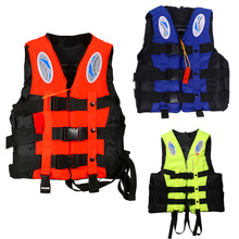 life vest life jacket s-xxxl 3 color professional for adult child safety fishing water outdoor survival in swimwear aid lifevest