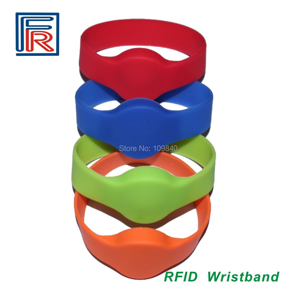 500pcs LF Silicone RFID Wristband Bracelet Tag 125KHz for ACCESS CONTROL,TK4100 / EM4100 CHIP(China (Mainland))