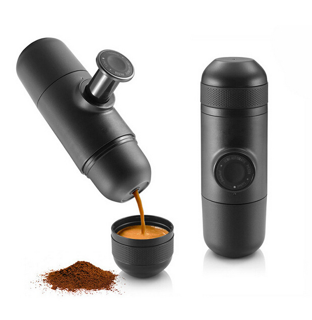 plastic coffee pot Manual portable pot coffee maker /hand pressure portable espresso machine ...