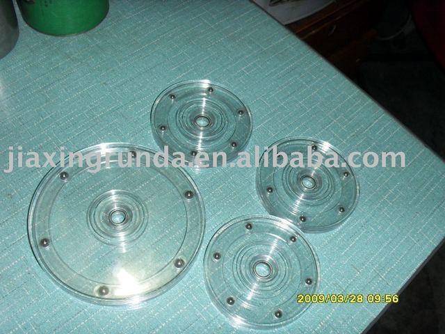 """Wholesale sales, plastic turntable, rotate, acrylic runner, plastic turntable6"""""""
