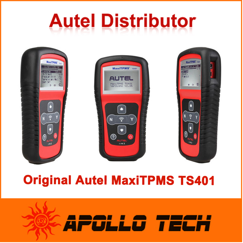 100% Original Autel MaxiTPMS TS401 TPMS diagnostic & service tool Pressure Tire Monitor System Diagnostic Tool(China (Mainland))