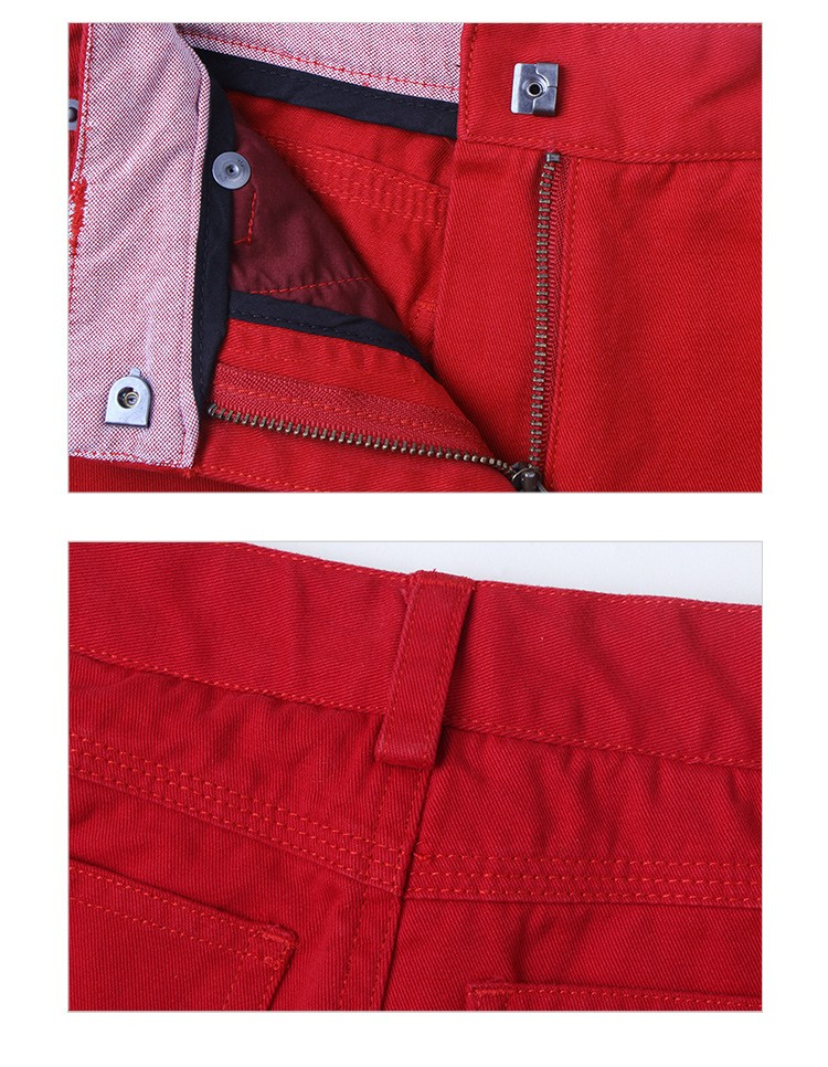 kids red trousers