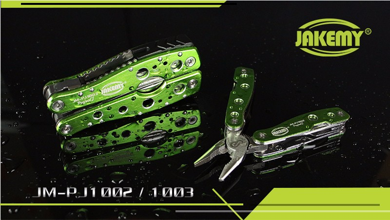 Buy JAKEMY Multitool High Hardened Alloy Flat Pliers Knife Multi Tool Ferramentas Herramientas Hunting Camping Tools cheap