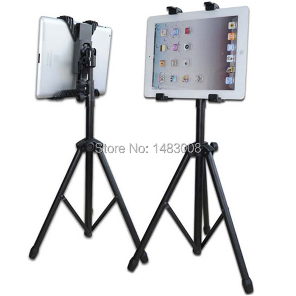 High Quality ipega Tripod Mount Holder Cradle Kit Stand for iPad Samsung All Tablet PC High Quality(China (Mainland))