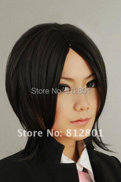 Sebastian kuroshitsuji Short Cosplay Black Wig<br><br>Aliexpress