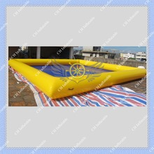 High Quality Inflatable Water Swimming Pool Safe and Strong Pool for Kids and Water Game,Air Pump Included(China (Mainland))