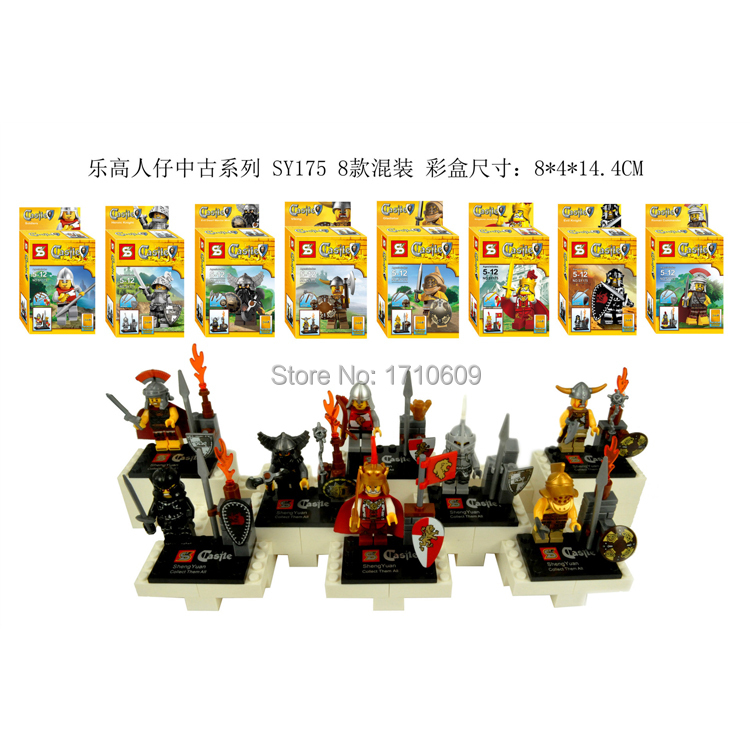 SY175 80Pcs/lot New Castle Star War 2014 Best Children Gift Baby Toys Plastic Building Block Sets freeshipping<br><br>Aliexpress
