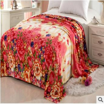 Free shipping 180x200cm 650g 3D flannel fleece blanket bed sheets Super Soft Micro-Plush Polyester Blanket Wholesale 016(China (Mainland))