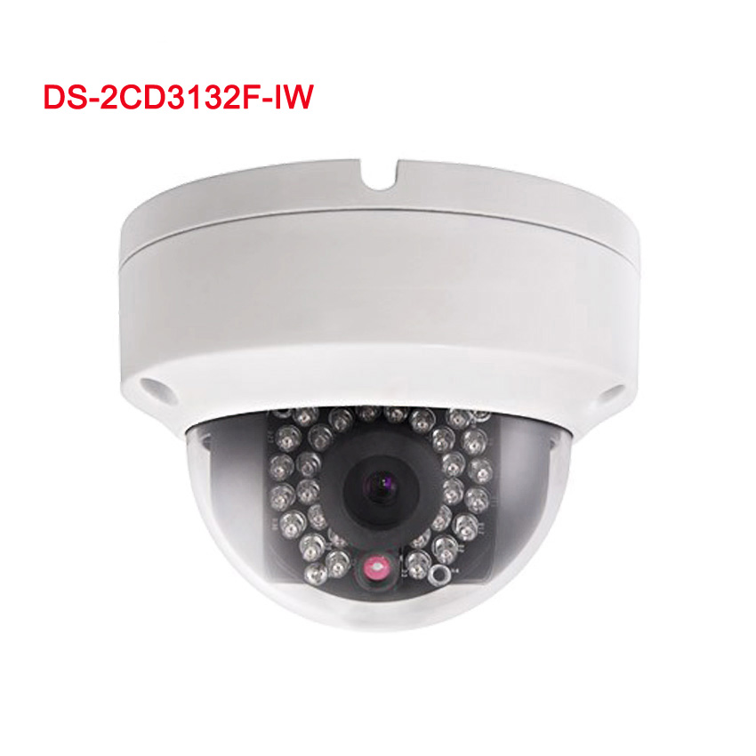 HD DS-2CD3132-I HIKVISION 3MP 1080P IR Outdoor Dome Network IP Camera POE 2.8mm<br><br>Aliexpress