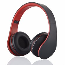 Foldable Wireless Stereo Bluetooth Headset For iPhone Cellphone PC Laptop Support TF Card, FM Radio