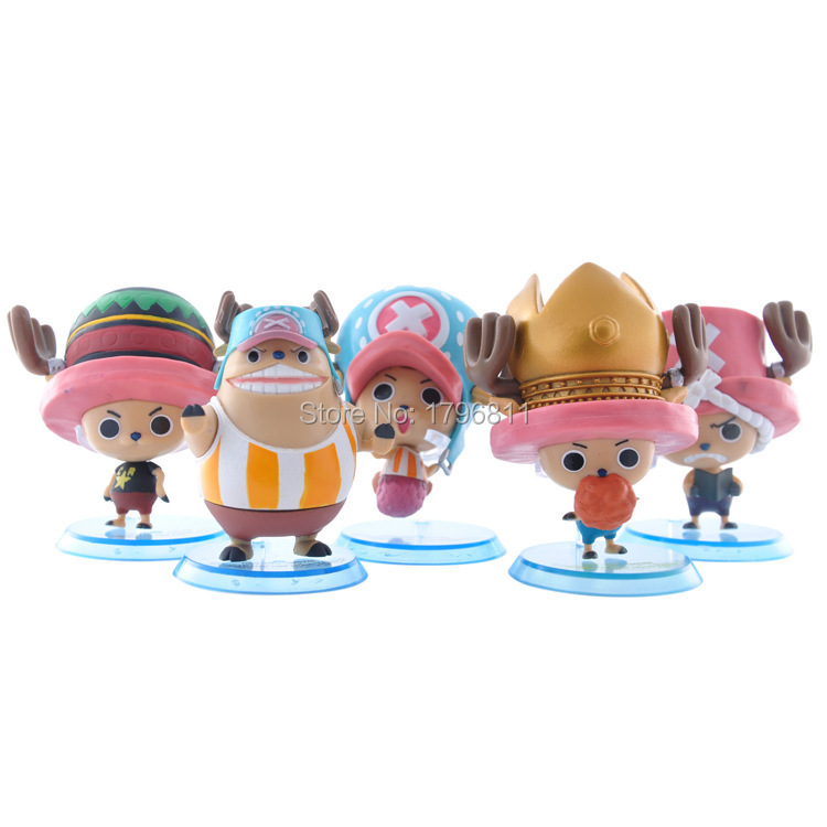 One Piece Q version Joba 6PCS/lot Anime Model Figure One Piece Action Figure Doll Toy Garage Kits(GK) Collector Figure(China (Mainland))