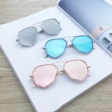 DRESSUUP Vintage Pilot Boy Girls Kids Sunglasses Brand Designer Children Sun Glasses Oculos De Sol Gafas Lunette De Solei(China (Mainland))
