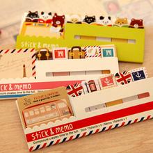 London /Paris/animal notebook supply writing pad stationery vintage memo pad/School supplies/stationery/papelaria WJ0087(China (Mainland))