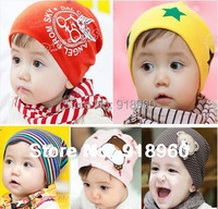 Baby beanies caps Kids Infant Hats Toddler 1 PCS/Lot Boys &Girls hat Skull Head Cap/1-3 Years old/20 Colors /ATL