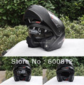 HOT SALE classic matte black color LS2 FF370 Open Face off road Motorcycle helmet Motorcross undrape