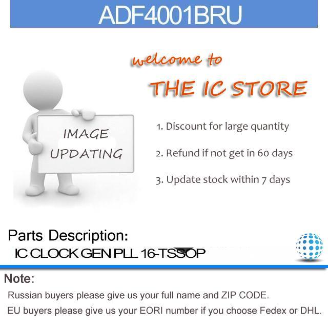 ADF4001BRU IC CLOCK GEN PLL 16-TSSOP ADF4001B Inc 4001 ADF400 4001B ADF40 4001BR(China (Mainland))