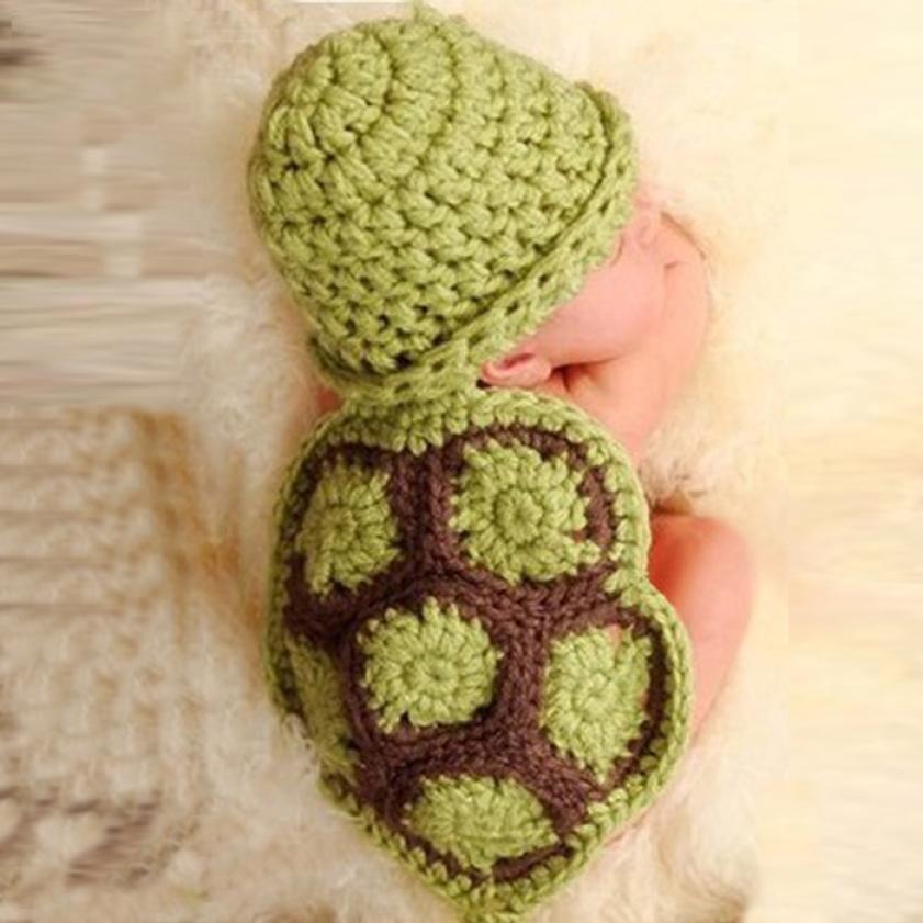 Baby Winter Hat Handmade Crochet Costume Baby Cute Animal Pattern Accessoire Photographie Baby #2458(China (Mainland))