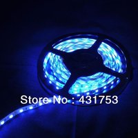 5meters/lot 5050 5m 300 Led SMD Led Strip Waterproof 60 Led per meter  White/Blue/Green/Red/Yellow/RGB  Non-waterproof