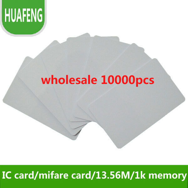 Free shipping by DHL  ,RFID proximity  IC card tags 13.56MHz,s50,1k, access control / time attendance/ car parking +min:10000pcs<br><br>Aliexpress