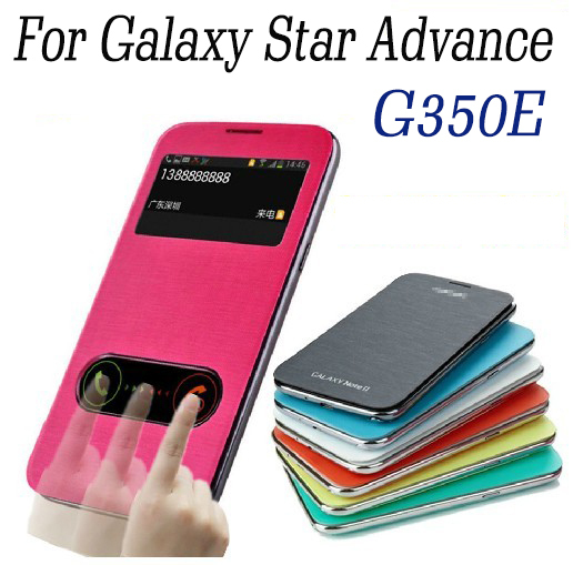 For Samsung Galaxy Star Advance G350e Flip Cover Case With ...