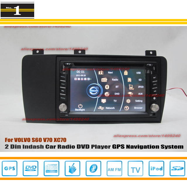 For VOLVO S60 2006~2009 - Car Radio Stereo CD DVD Player / HD Touch Screen Audio Video GPS Navigation System(China (Mainland))