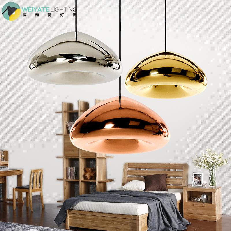 Glass lamp, lamp, lamp, lamp, lamp, lamp, lamp, lamp, lamp, coffee, fashion, European, Nordic, single head, modern.
