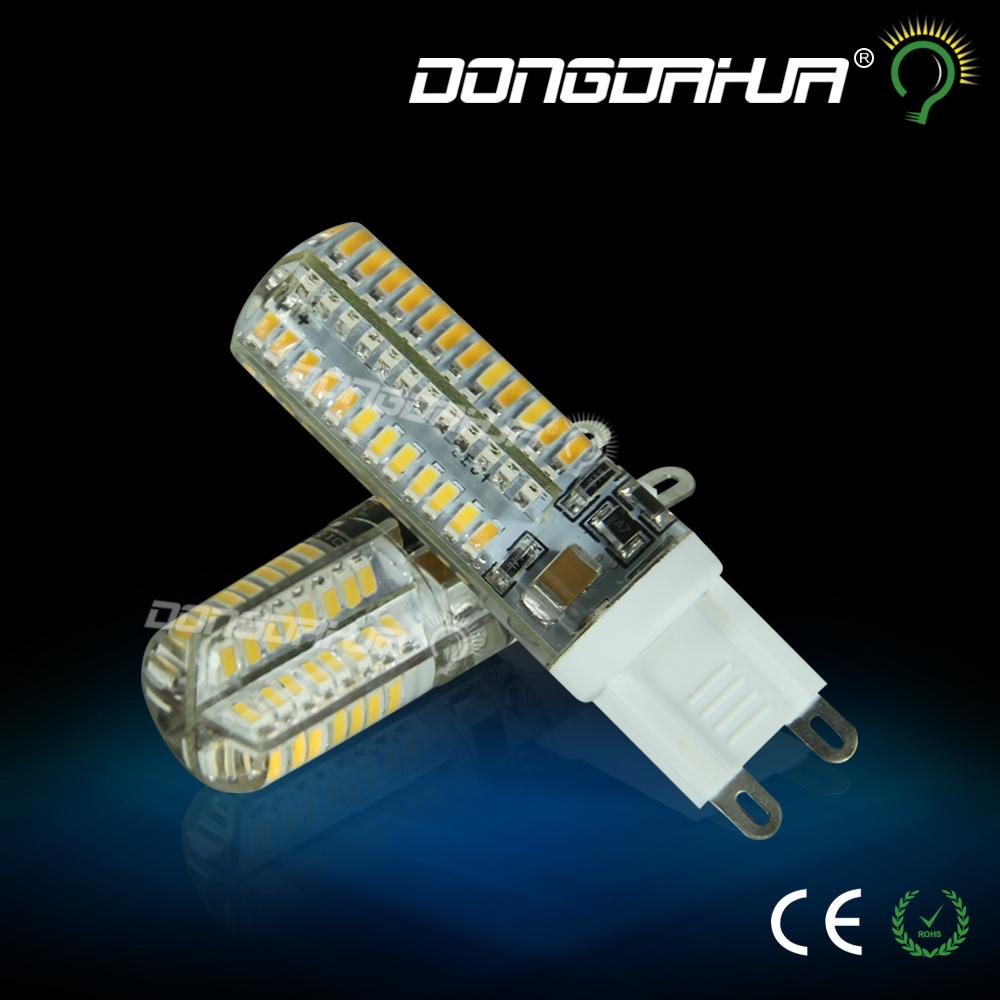 2016 Cree Hot Sale LED lamp G9 corn Bulb AC 220V 3W 5W SMD 3014 LED light 360 degrees Beam Angle spotlight lamps bulb(China (Mainland))