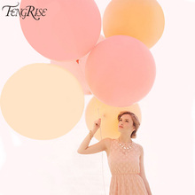 Buy FENGRISE 90cm Wedding Car Decorations Heart Round Air Balloons Jumbo Giant Latex Balloon Birthday Party Photo Prop Supplies for $1.27 in AliExpress store