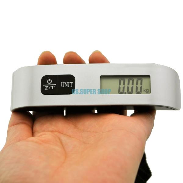 Digital Electronic Portable Luggage Suitcase Travel Bag Weight Hanging Scales EH1140