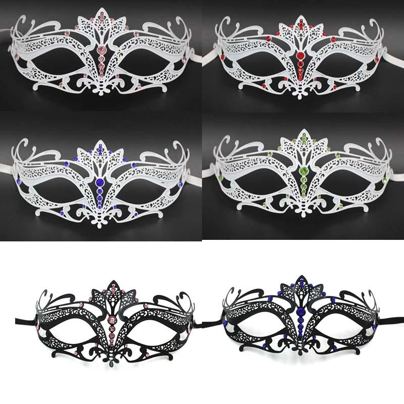 2016 masquerade masks cosplay hot masquerade masks party colors Diamond venetian mask Factory can be customized 1011(China (Mainland))