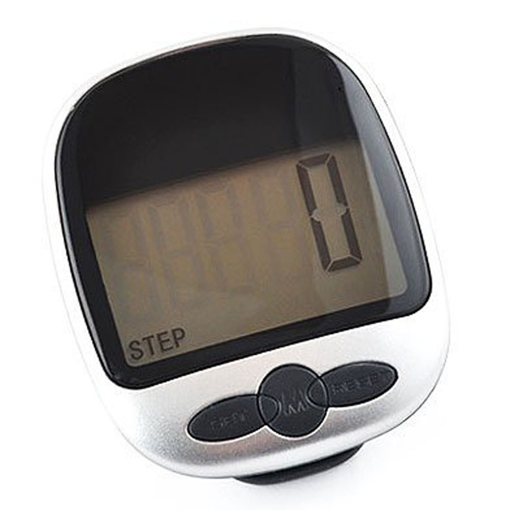 ELOS-Multi-function Pocket Pedometer Step Counter LED Display