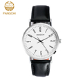Brand Mens Women Dress Watches Quartz Couple Wristwatch Casual Genuine Leather Strap Black Reloj Hombre Feminino