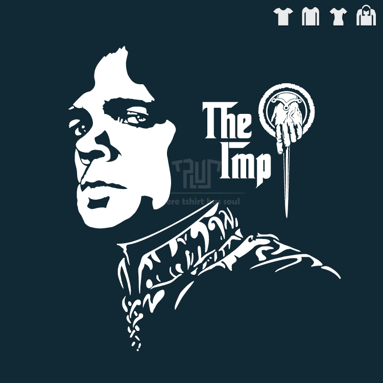 Game of thrones tyrion the imp hand of the king men unisex t shirt 100 cotton