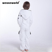 WEONEDREAM 2016 New Spring Autumn Boys Girls Set Clothes Casual Zipper Fleece Hooded Jumpsuit Sport Children Kids Clothing Sets(China (Mainland))