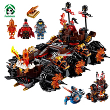New Knights Siege Machine Set 544pcs Building Bricks Lepin Knights Compatible with Lego Kids Toys Blocks Model Building Figure