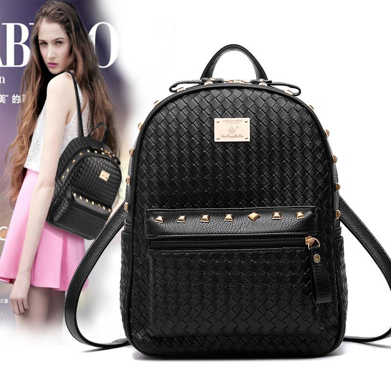The Red Rose Lady Bag 2015 new winter leisure backpack Backpack Travel bag bag bag simple<br><br>Aliexpress