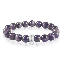 Fashion Jewelry Bracelet For Women Crystal Bracelet Purple Stone Charm Bracelet Love Present TS-BR001(China (Mainland))