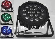 Hot Selling New 19x3W RGB LED SlimPar 64 with 3/7Channels DMX, Auto Run, Sound Active, Music Control, Strobe, Mater/Slave(China (Mainland))