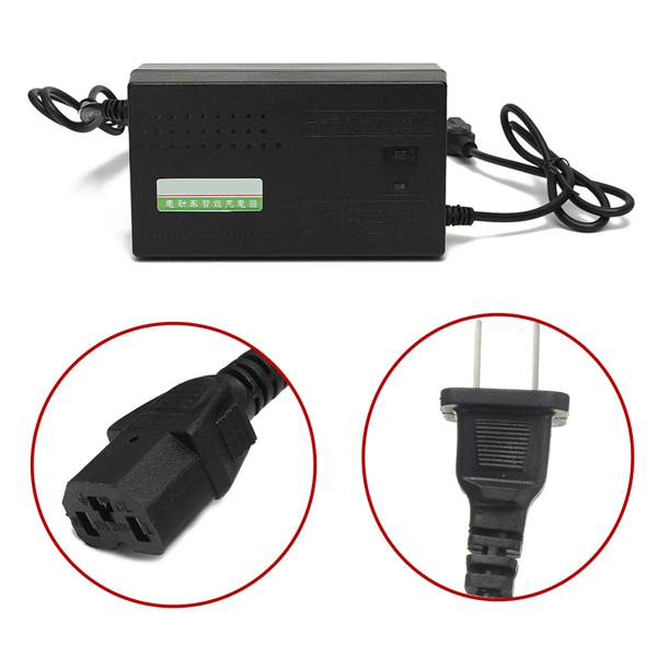 High Quality 48V Electric Bicycle Bike Charger Lead Acid Battery Charger 48V 20AH 14AH 12AH With LED Indicator Wholesale(China (Mainland))