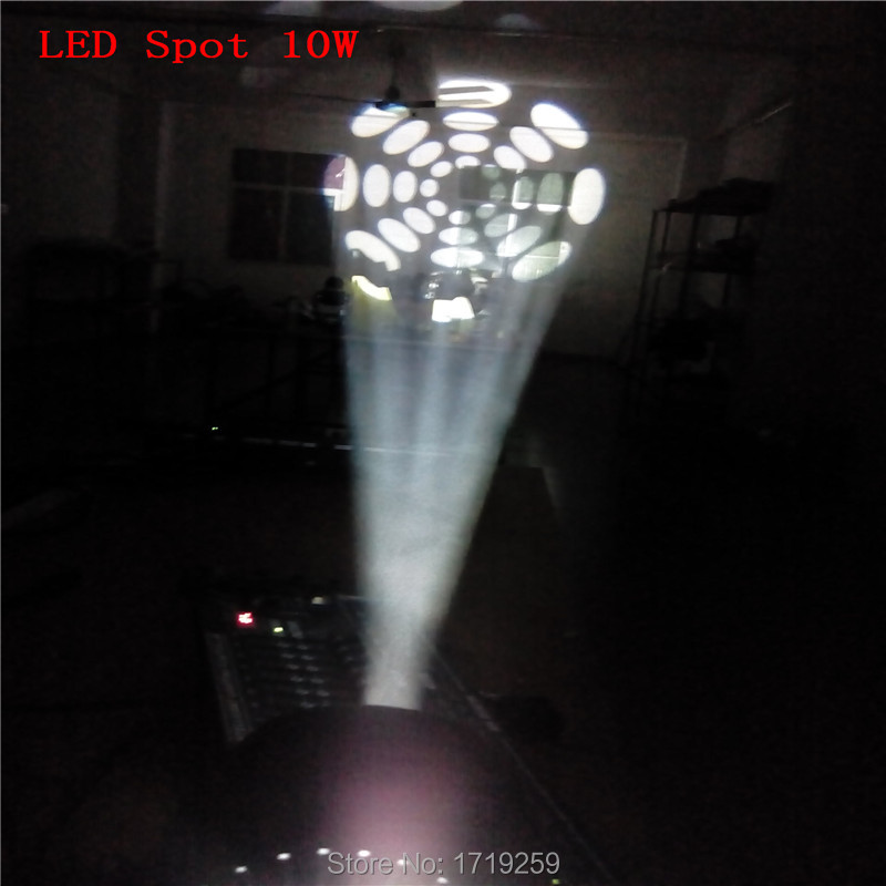 10W Mini Moving Head Stage Spot mini Moving 5/13 Channels LED 7spots Fast Shipping<br><br>Aliexpress