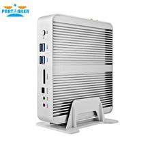 5th Gen CPU Broadwell Intel Core i5 5200u I5 5250U I5 5257U Fanless Barebone Mini PC Windows Linux HTPC Server 2 Lan WiFi HDMI(China (Mainland))