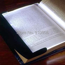 Paperback Nightlight ABS Plastic LED Reading Light Wedge Panel Book Light