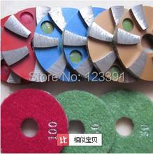 Envío gratis de 80mm * 20 * 8 mm pulido de piedra de renovación de suelo disco, molienda de hierro disco de corte para molienda granito, hormigón