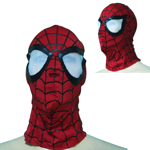FREE SHIPPING Animation Cartoon COOL ! Spider Man SPIDERMAN Mask For Halloween and Christmas PARTY #01 L(China (Mainland))