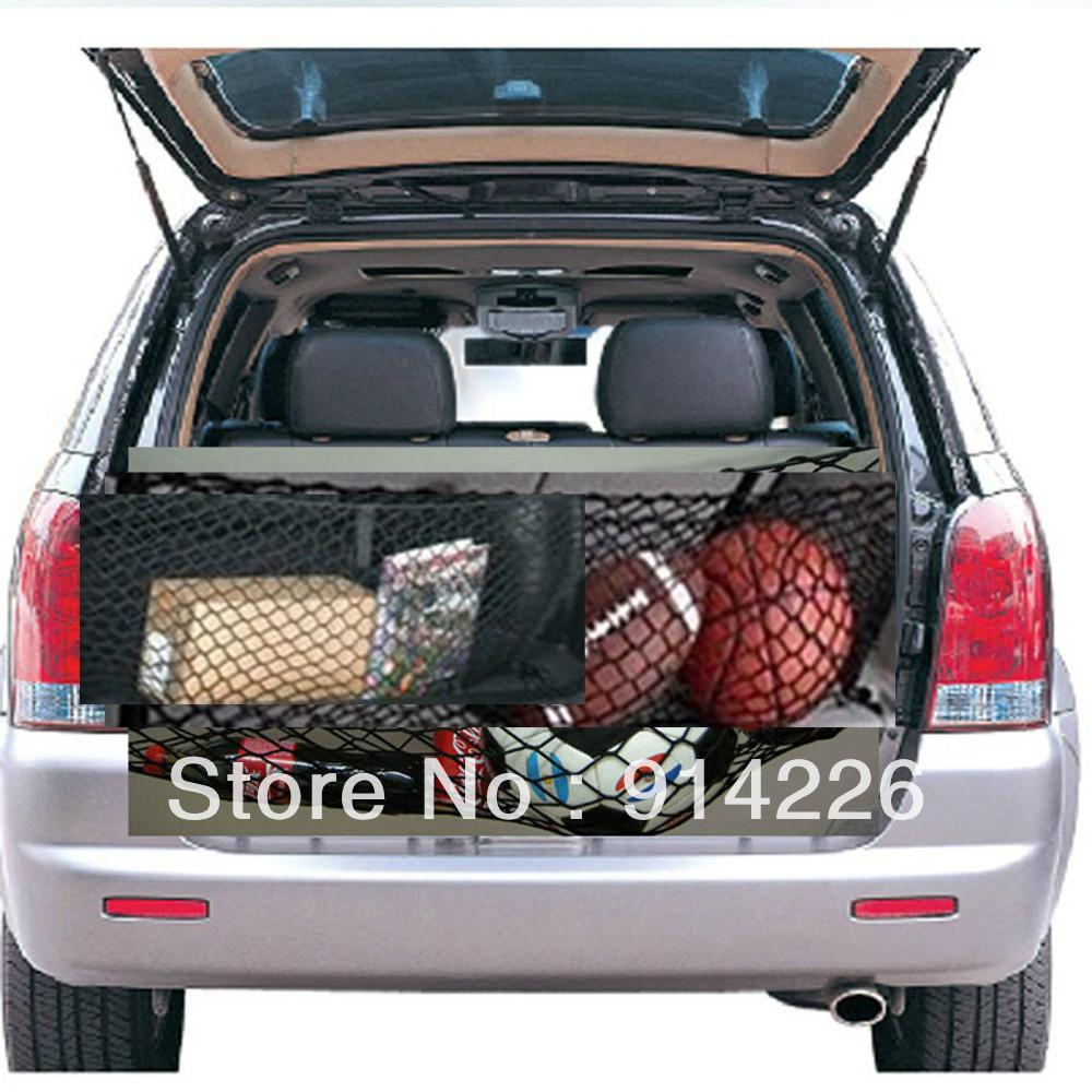 Interior accessories ratchet strap b luggage rear trunk cargo net envelope organizer fit jeep for Jeep liberty interior accessories