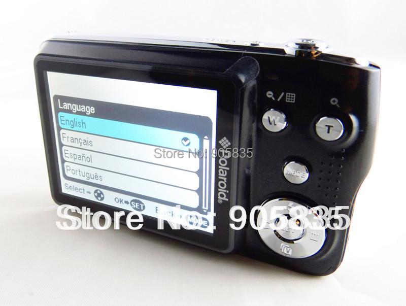16Mega Pixel digital camera 3XOptical zoom 2.7''Screen 720P Video rechargable battery AC Charger Free Shipping Free gift (327)