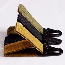 Carabiner High strength nylon tactical backpack key hook webbing buckle hanging system Belt buckle hanging(China (Mainland))